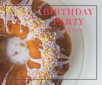 Birthday Party - Glutenvrijevrouw - image Pexel.com