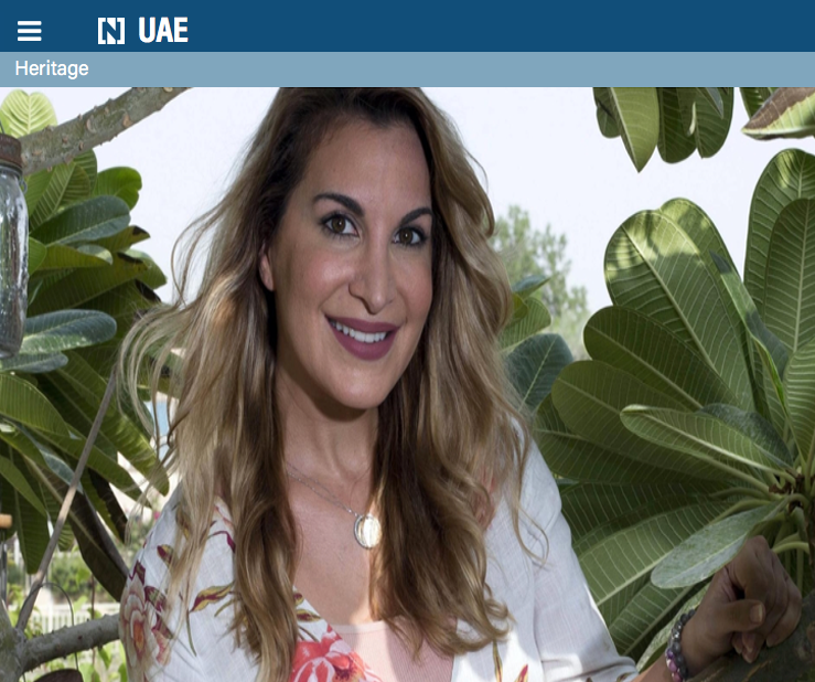 The UAE is a land of opportunity and diversity for Laila Almaeena, the founder of a media production company in Dubai. Leslie Pableo for The National