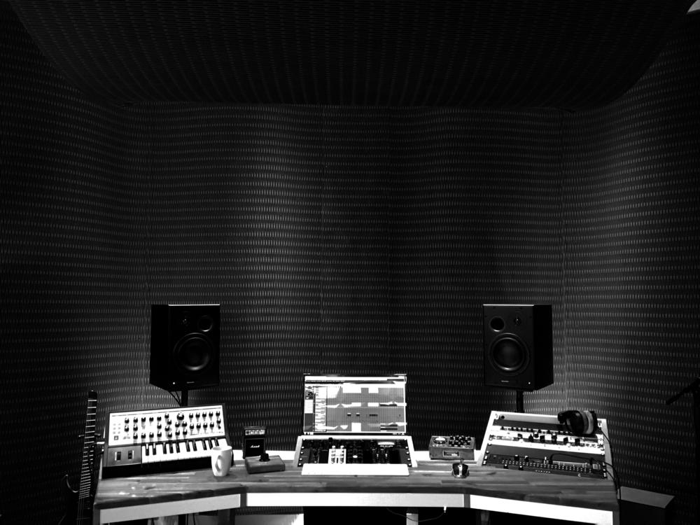 Dukta®-Platten in einem Tonstudio