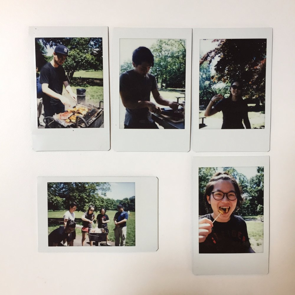 Team Sencity having a team retreat at the Prospect Park in Brooklyn, NY.