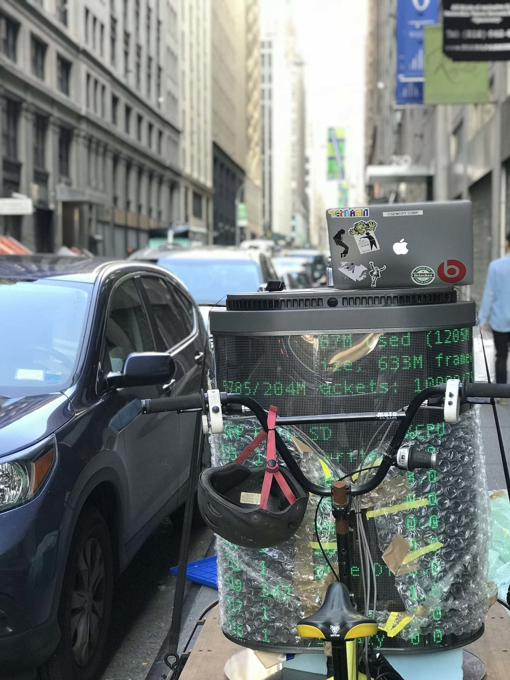 Transporting the Matrix.