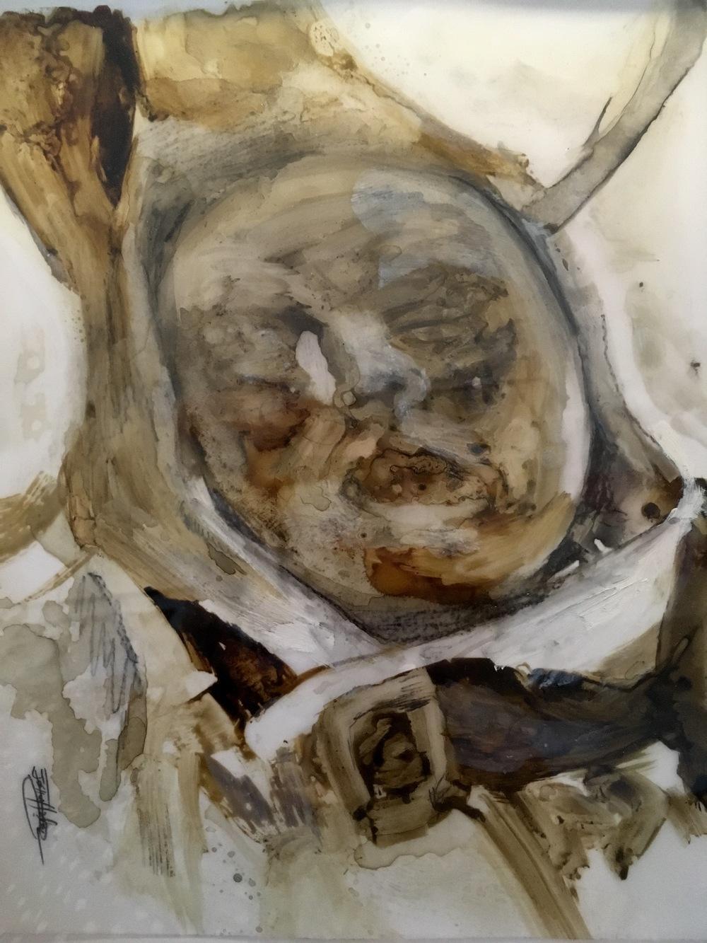 ''Untitled'' 30 x 35 cm