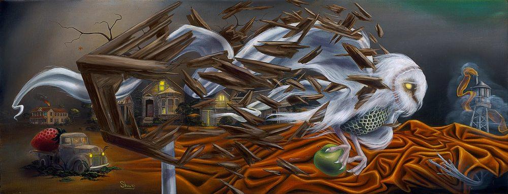''Transcendence'' 20 x 60 cm