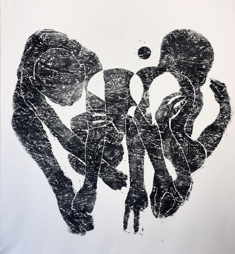 ''Untitled'' 130 x 117 cm