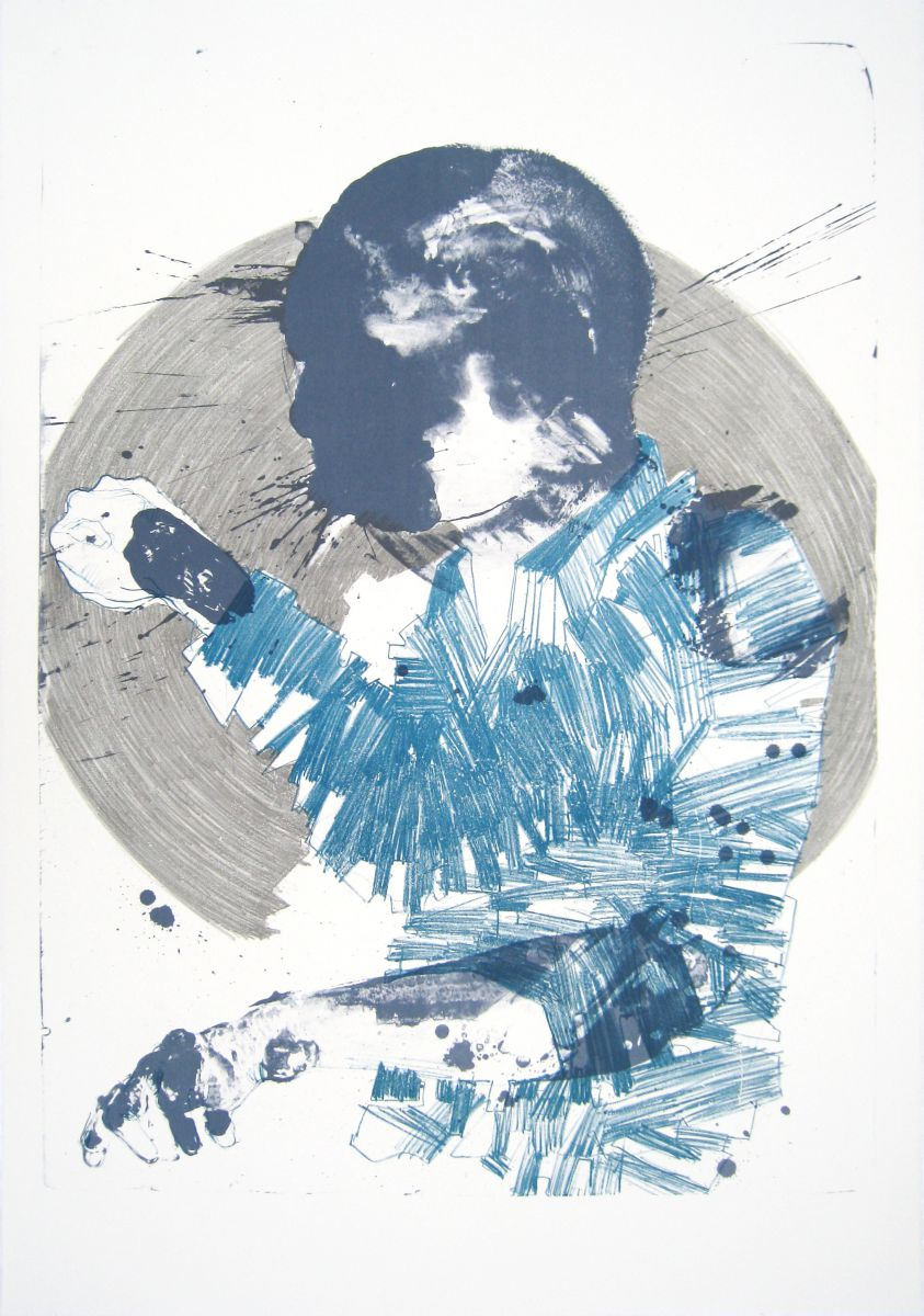 ''Man & Shirt'' 111 x 77 cm