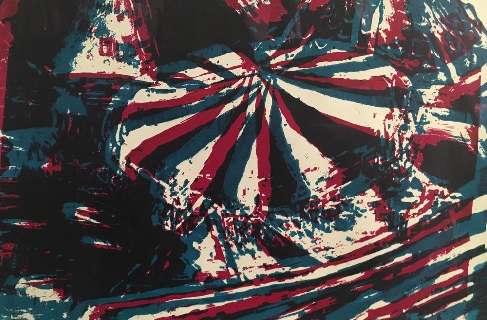 ''Glyph Shift'' 38 x 52 cm