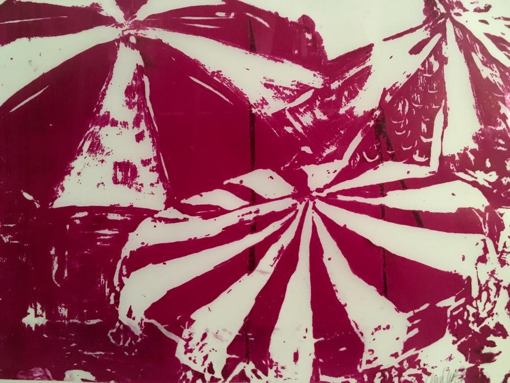 ''Glyph Shift'' 44 x 38 cm