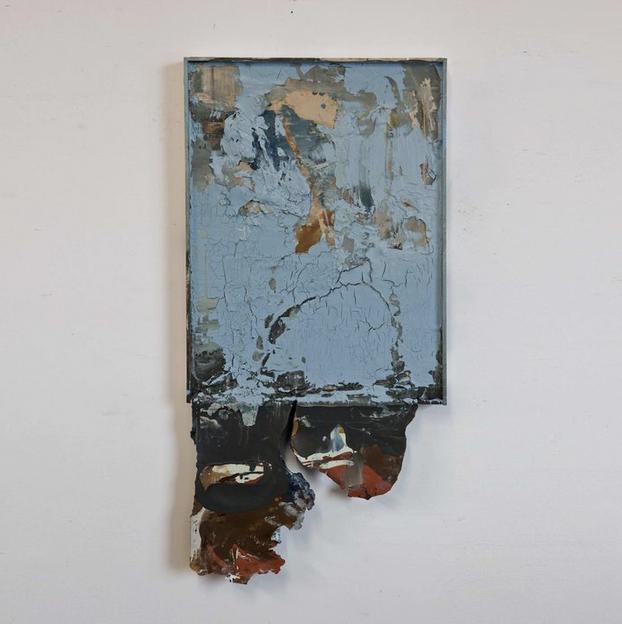 """Riverbed II"" 93 x 47 cm"