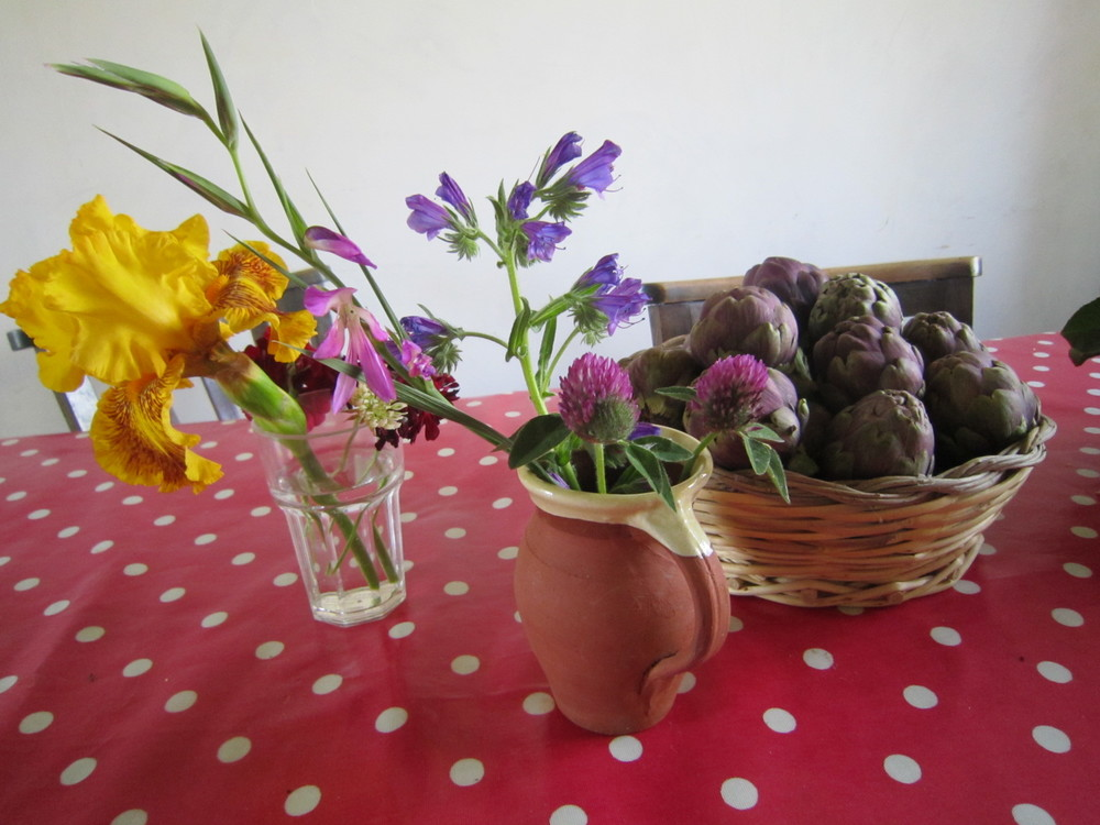 from the garden, easter.JPG