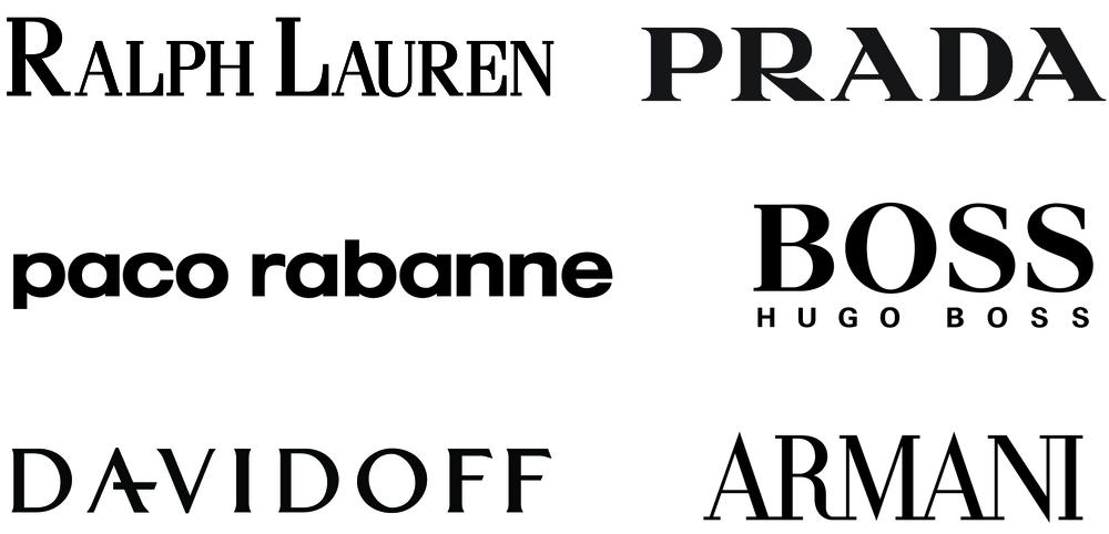 Designer brands logos