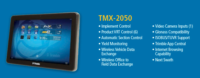 Trimble Guidance Display TMX-2050