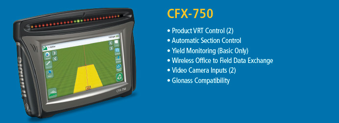 Trimble Guidance Display CFX-750
