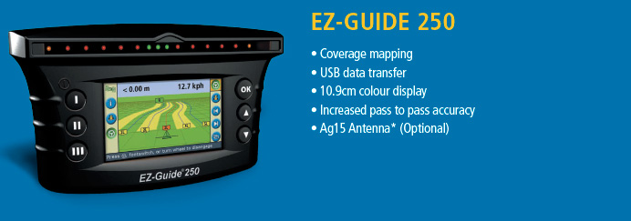 Trimble Guidance Display EZ-Guide 250