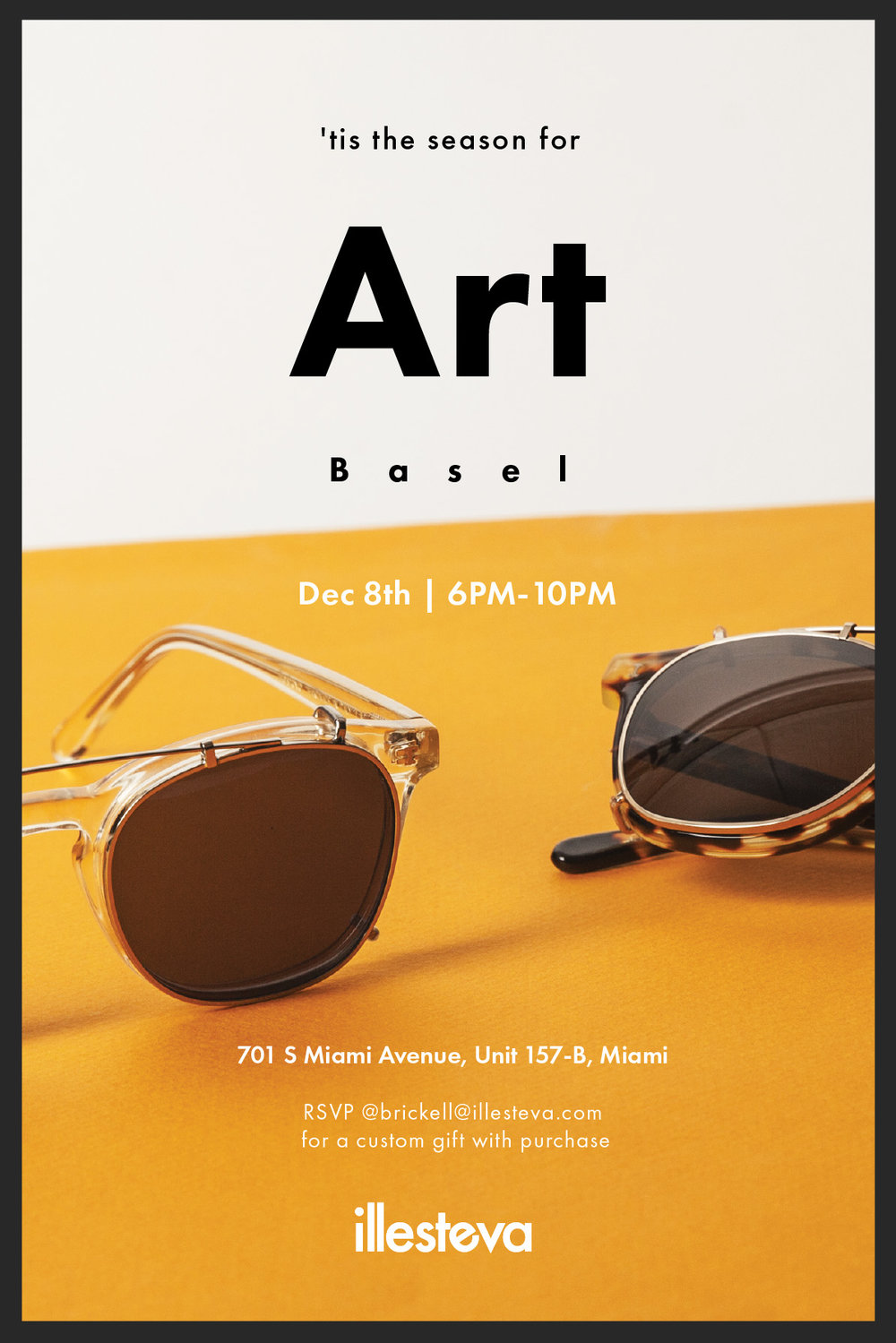 Art Basel week event - Event at Illesteva Miami Stores