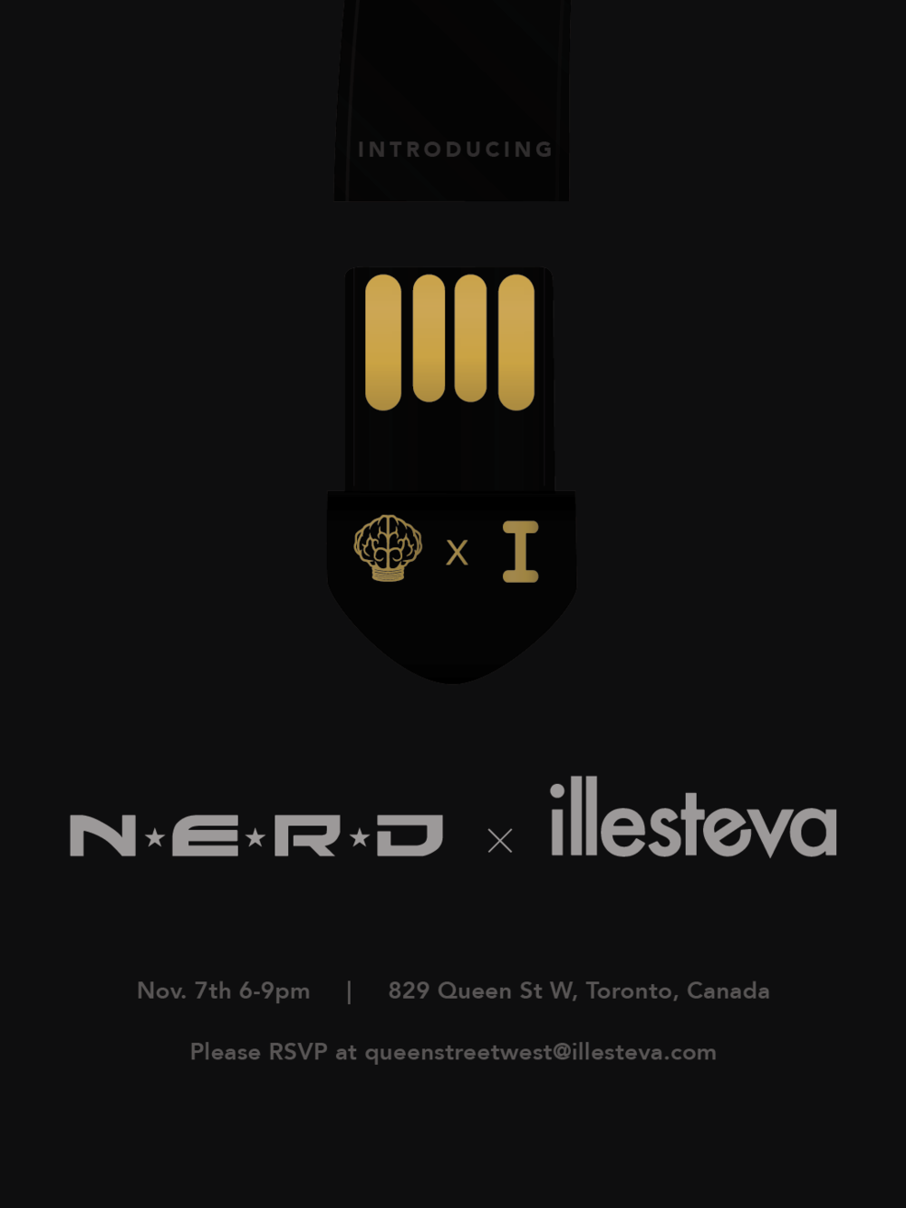 N·E·R·D Collaboration - Event at Illesteva Toronto to celebrate the launch