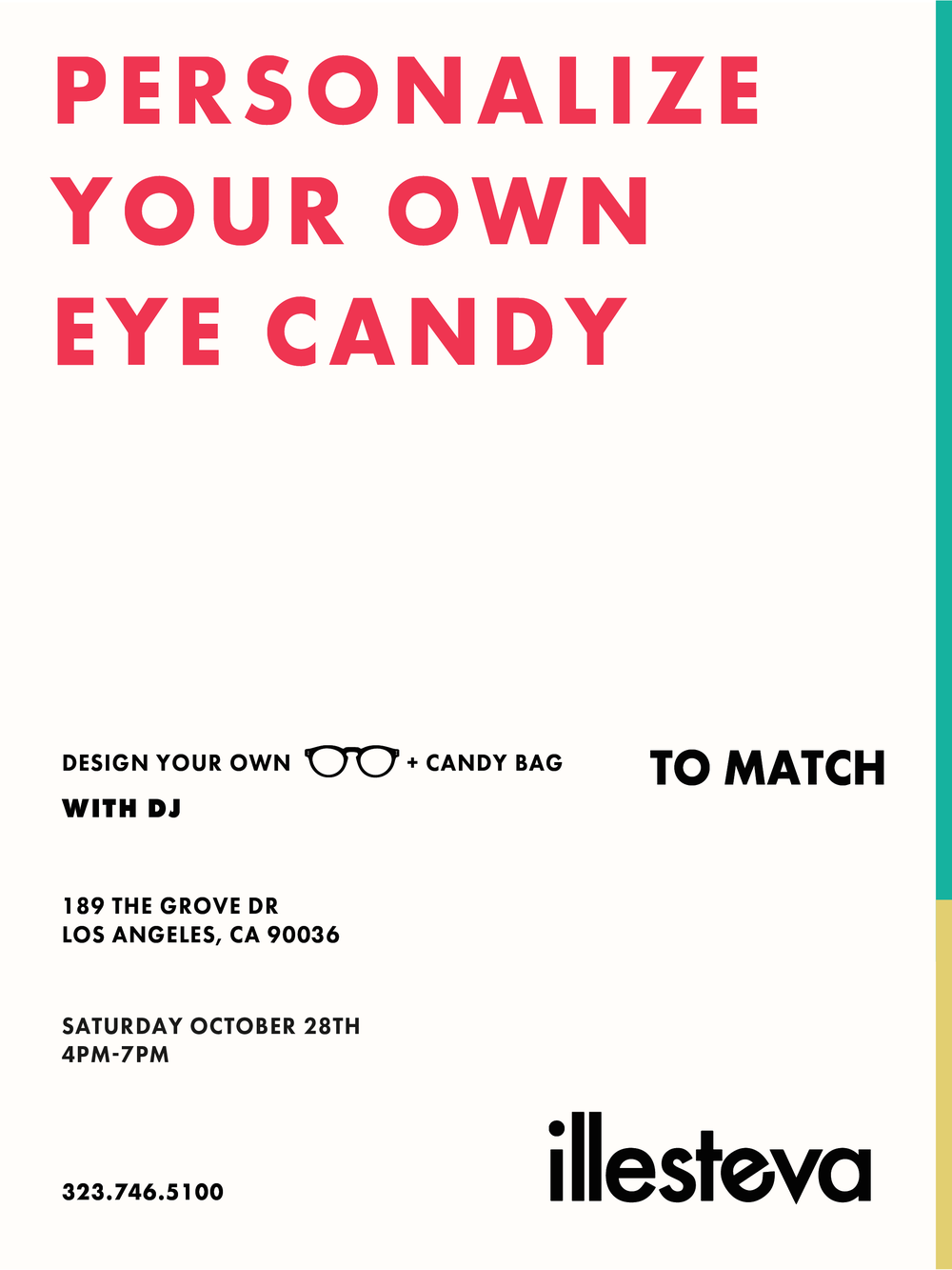 Personalize Your Eye Candy - Customization Event at Illesteva The Grove