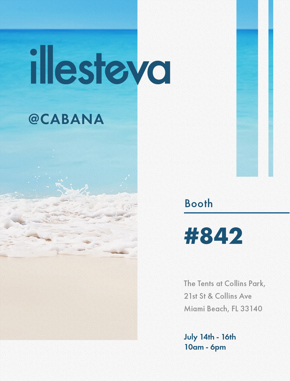 Cabana 2018 - For buyers at a beach-themed trade show