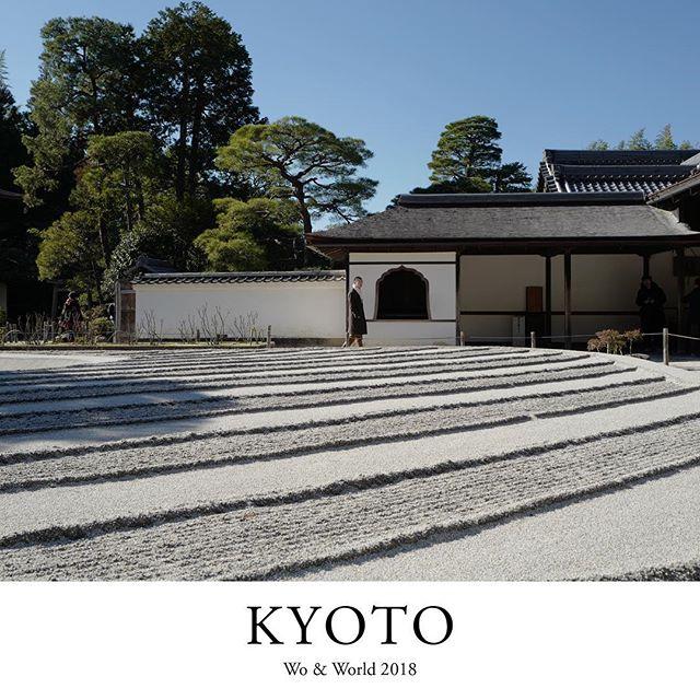 Kyoto, Japan [2018] Ginkaku-ji. #woandkyoto #woandjapan #travel #travelgram #wanderlust #instatravel #travelphotography #japan #kyoto #ginkakuji