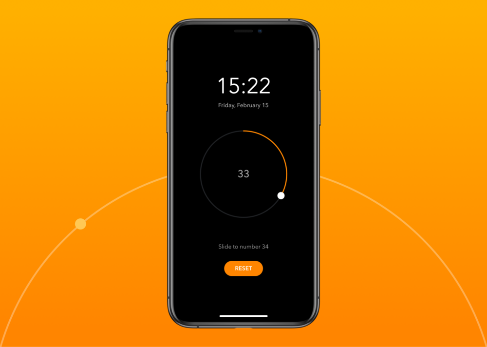 Unlock - A lock screen interface that randomize the target number every time it is openedCase Study