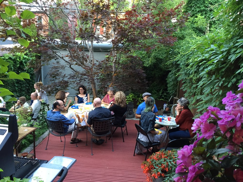 June 2016: Annual BBQ @ Focusing on Borden