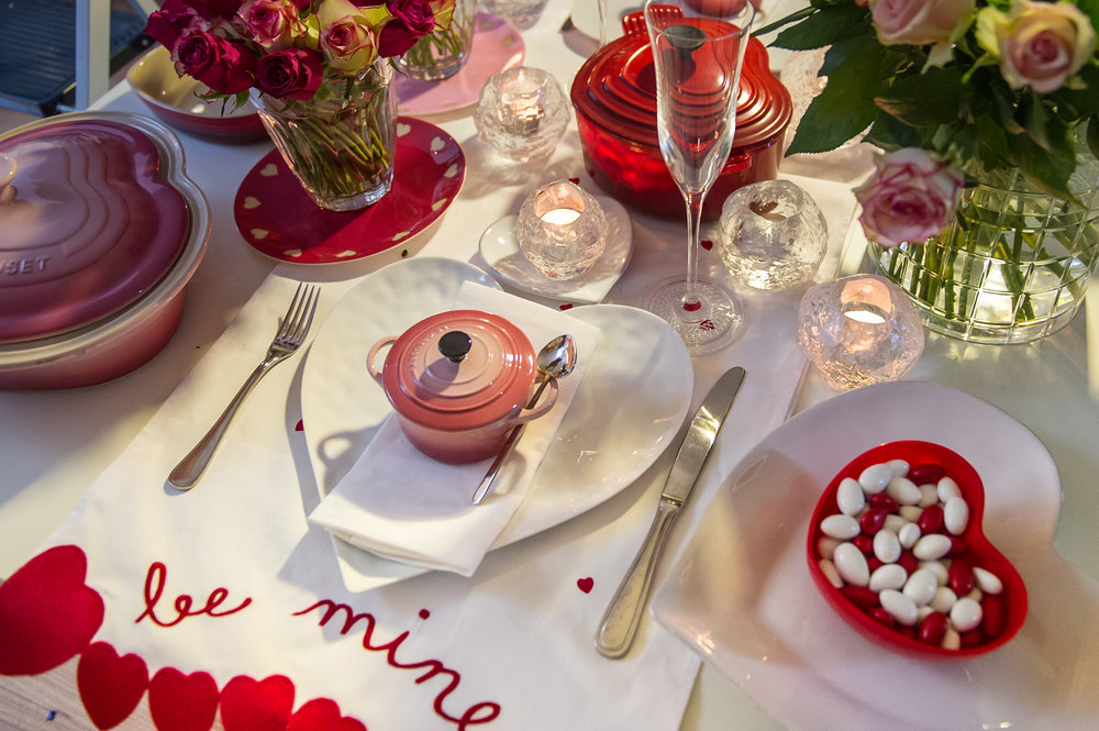 Valentine's Day Table Setting Inspiration