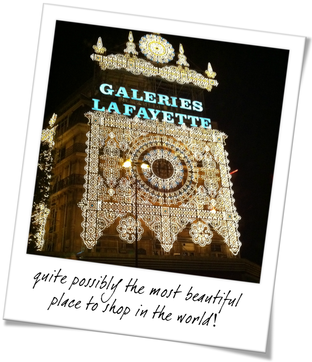 The Best Places to Shop in Paris - Galeries Lafayette
