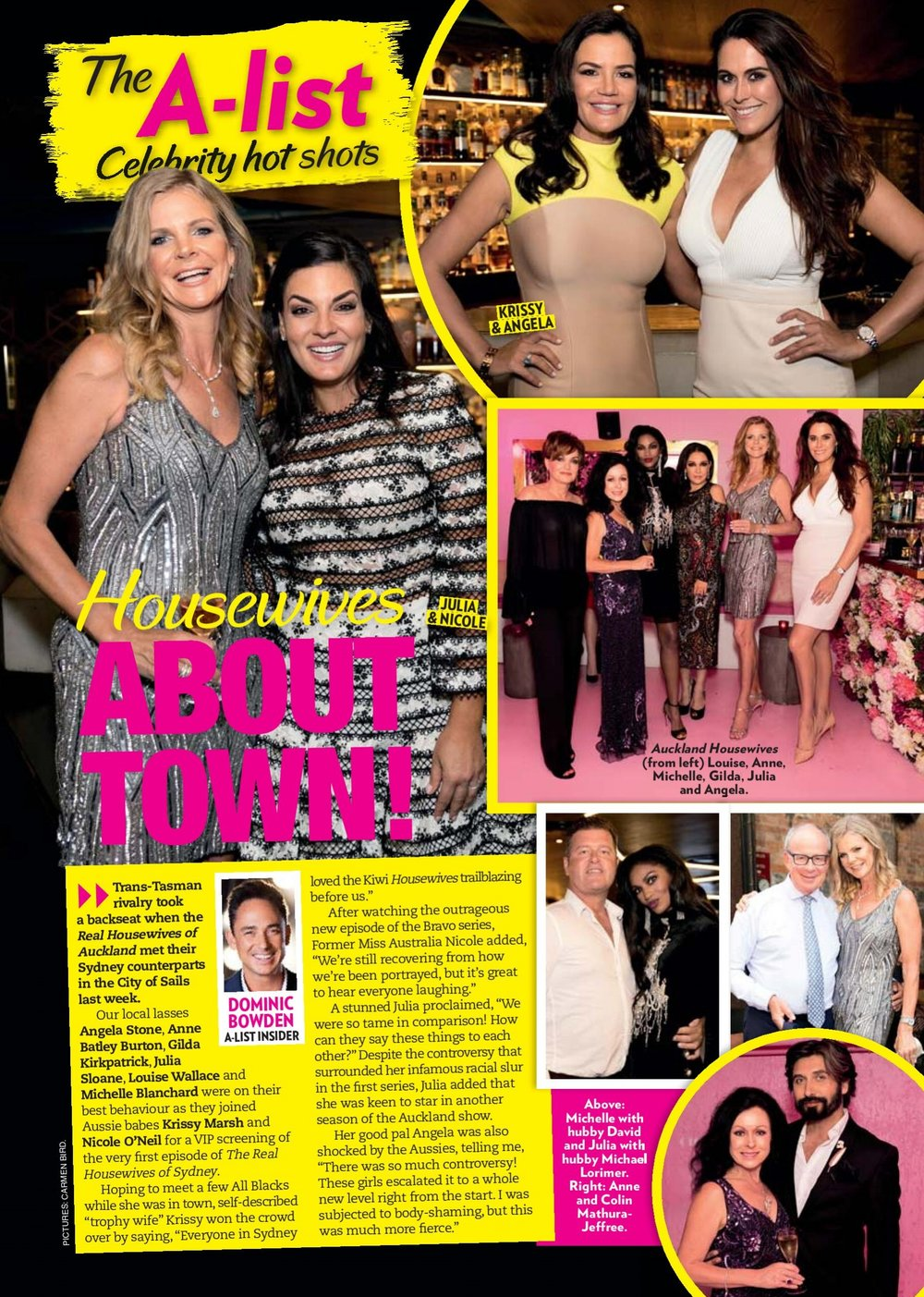 Woman's Day A-List Celebrity Hot Shots - February 13th, 2017