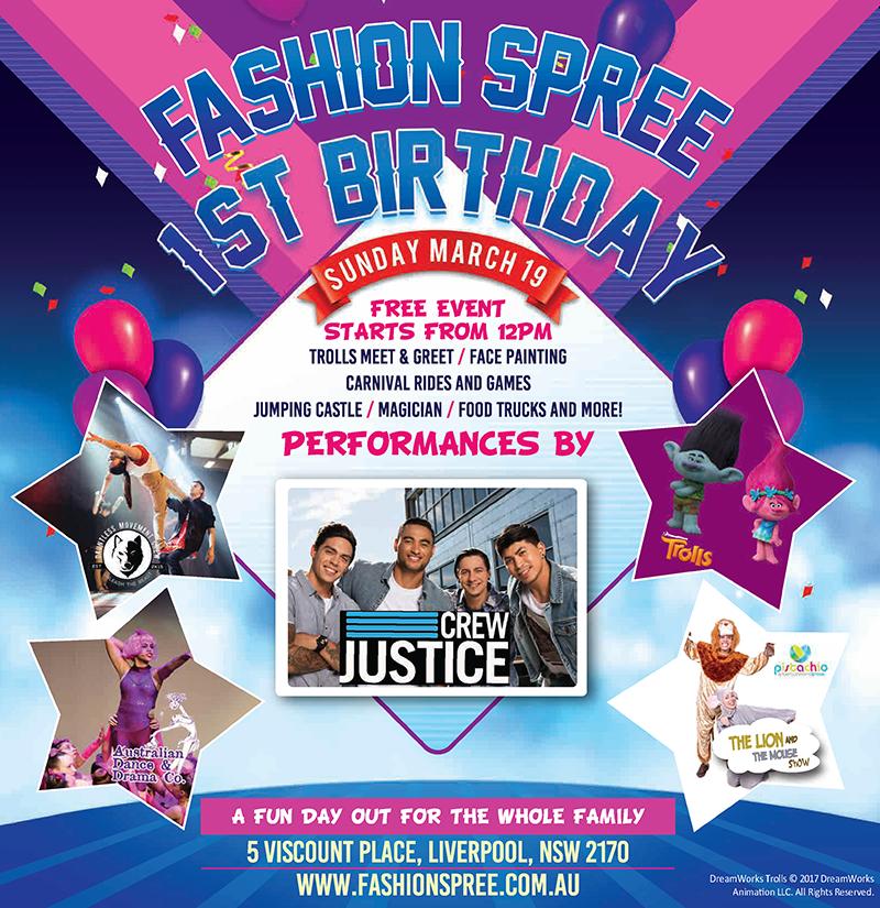 Fashion Spree Liverpool's First Birthday Celebration