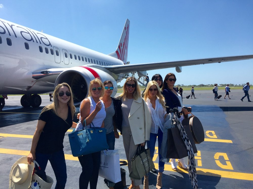 Behind the Scenes of The Real Housewives of Sydney Episode Four - Girls on their way to The Whitsundays Queensland.jpg