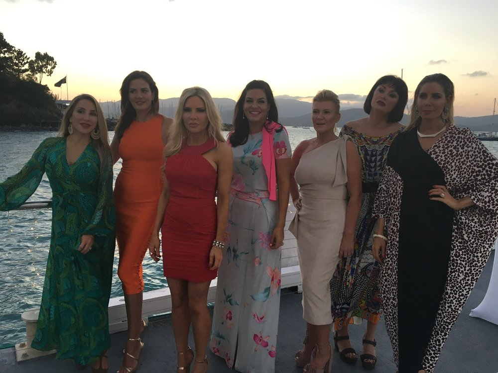 Behind the Scenes of The Real Housewives of Sydney Episode Four - Girls on the first night in the Whitsundays.jpg