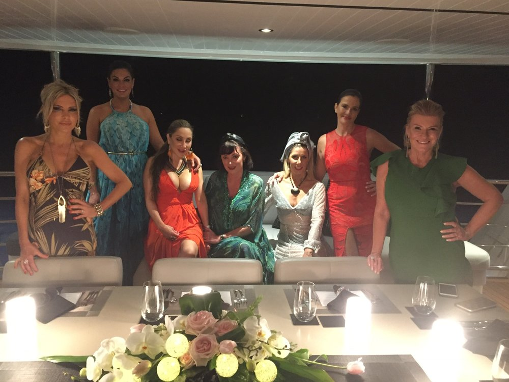 Behind the Scenes of The Real Housewives of Sydney Episode Four - Girls at dinner.jpg