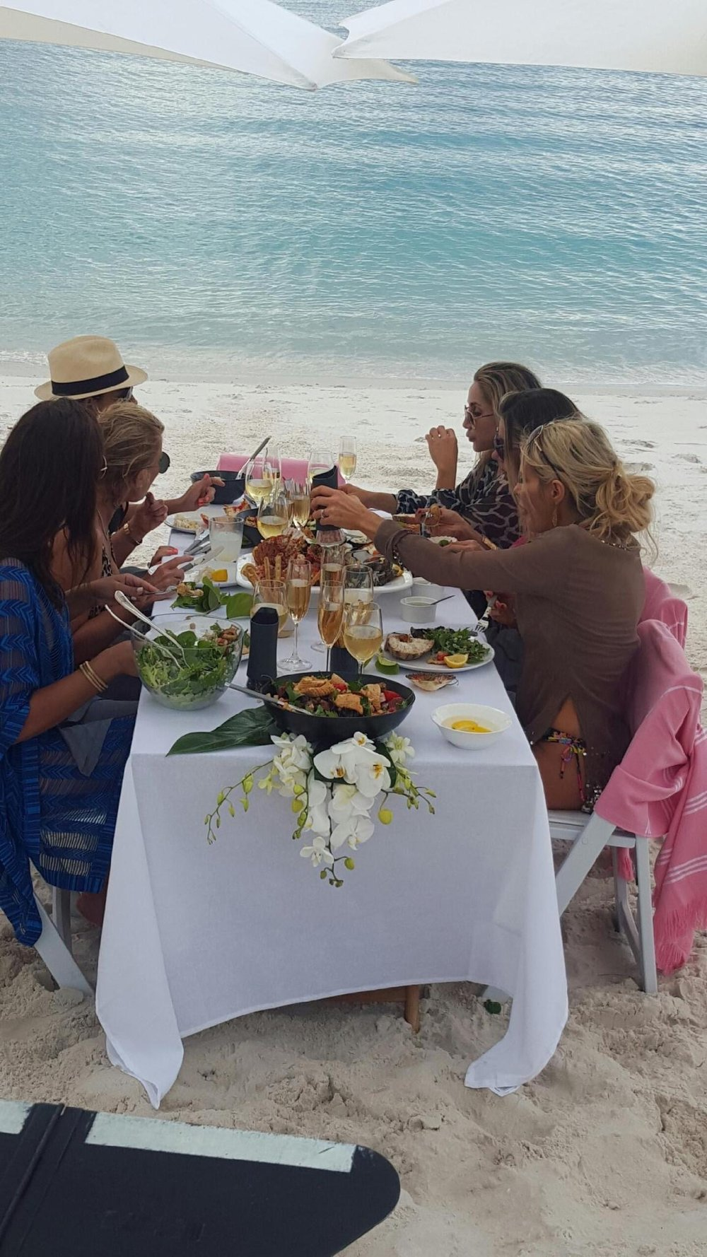 Behind the Scenes of The Real Housewives of Sydney Episode Four - lunch on the beach.jpg