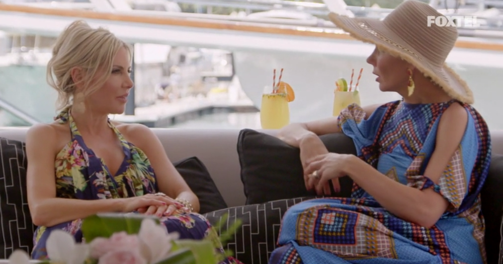 Melissa and Athena have Sunrise Cocktails - The Real Housewives of Sydney Episode 5 Season 1 Recap S01E05