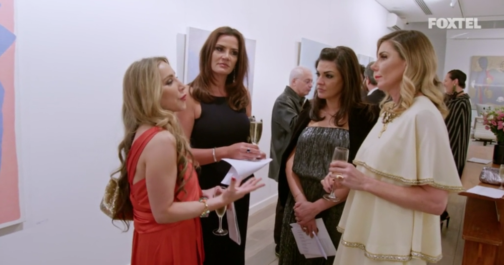 The girls try to reason with AthenaX - The Real Housewives of Sydney Episode 5 Season 1 Recap S01E05