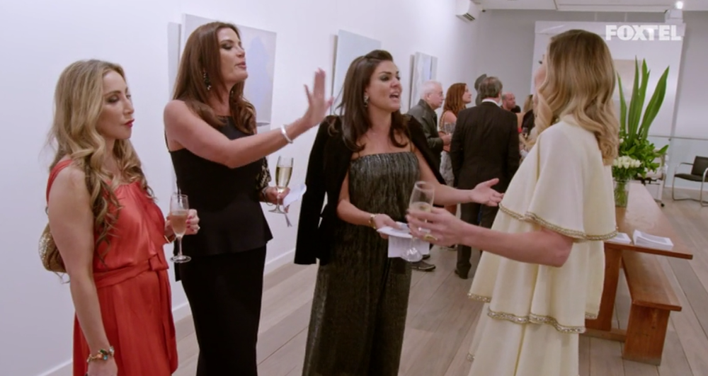 Yelling at Athena - The Real Housewives of Sydney Episode 5 Season 1 Recap S01E05
