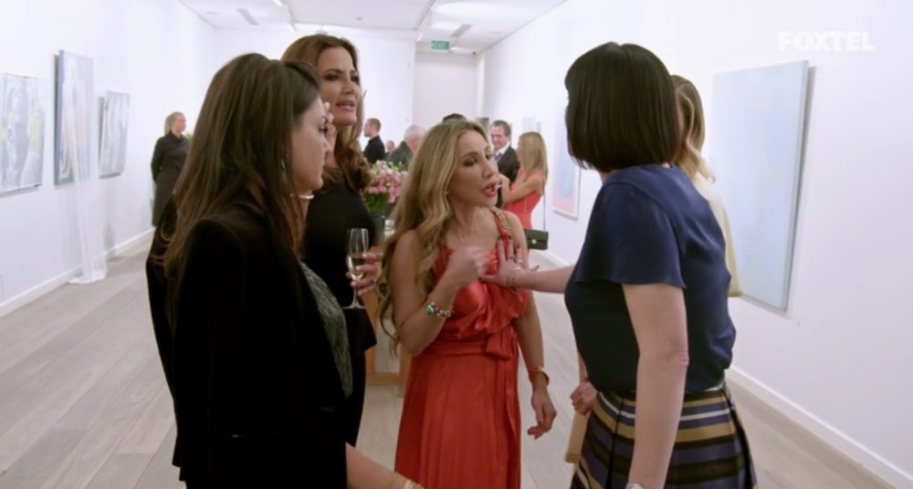 Lisa pushes Matty - The Real Housewives of Sydney Episode 5 Season 1 Recap S01E05
