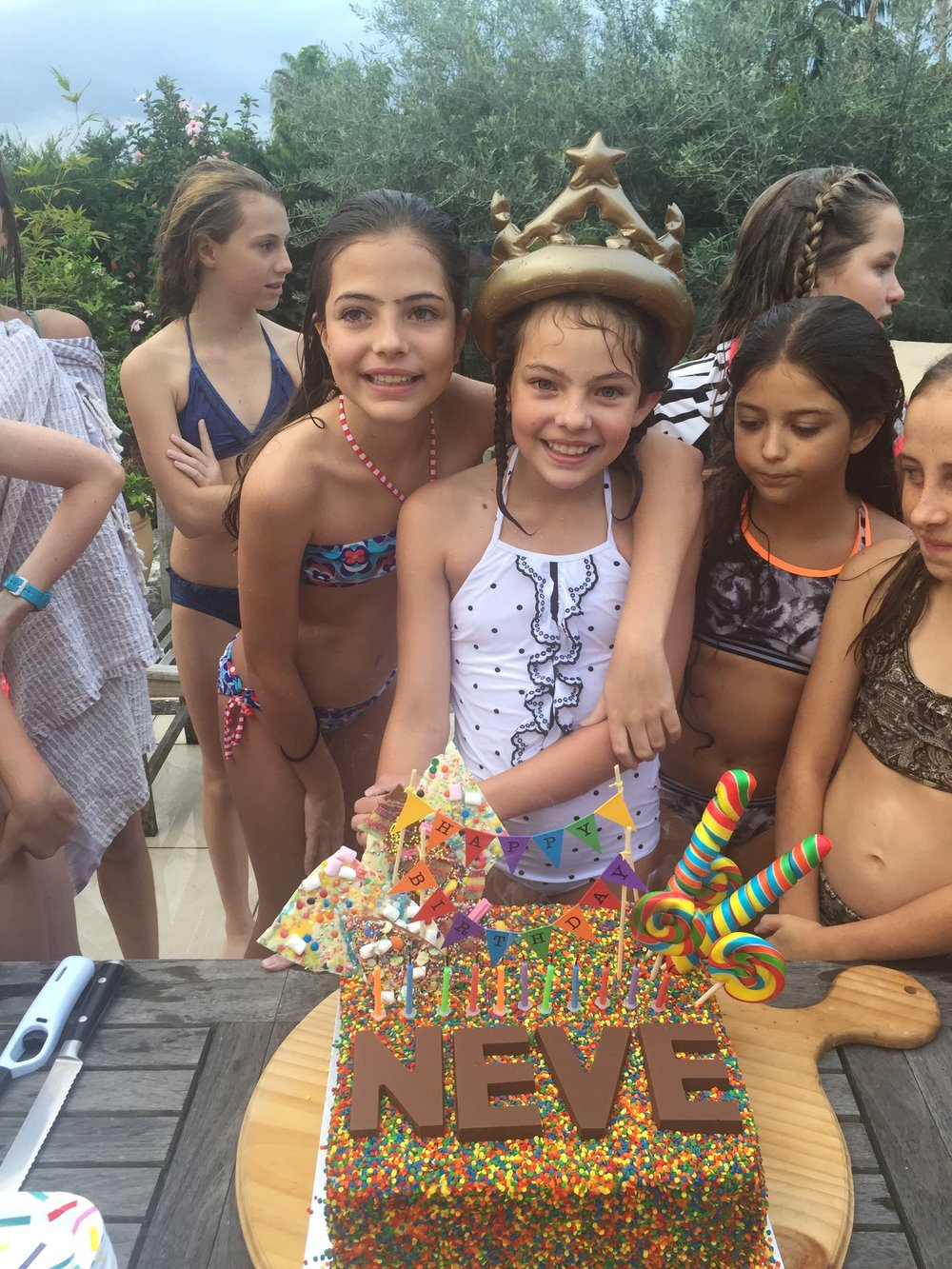 Be inspired by this Rainbow Unicorn Themed Pool Party, created by The Real Housewives of Sydney's Nicole O'Neil for her daughter Neve's 11th Birthday. Featuring a beautiful rainbow snack bar, rainbow sprinkle cake and much more.