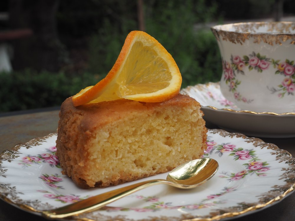 Persian Flourless Orange and Almond Cake Recipe