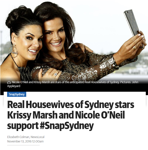 Snap Sydney Article - The Daily Telegraph