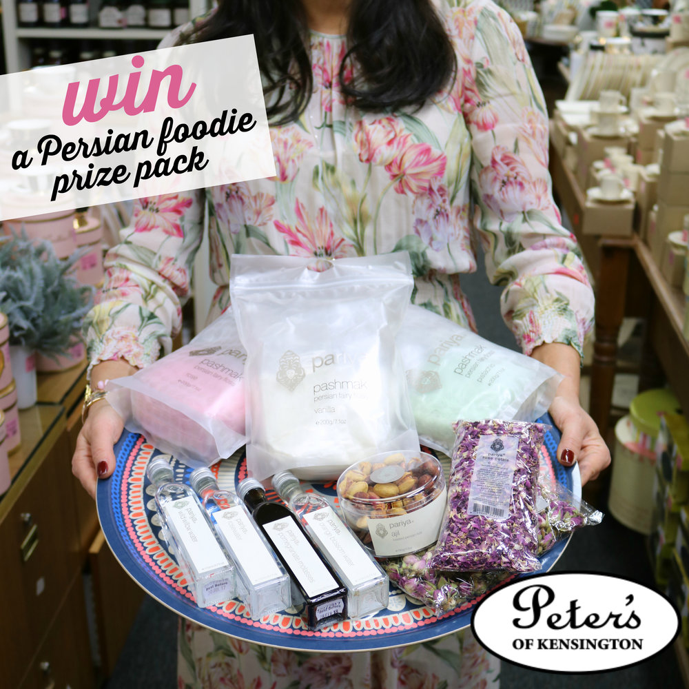 Win a Persian Foodie Prize Pack from Peter's of Kensington