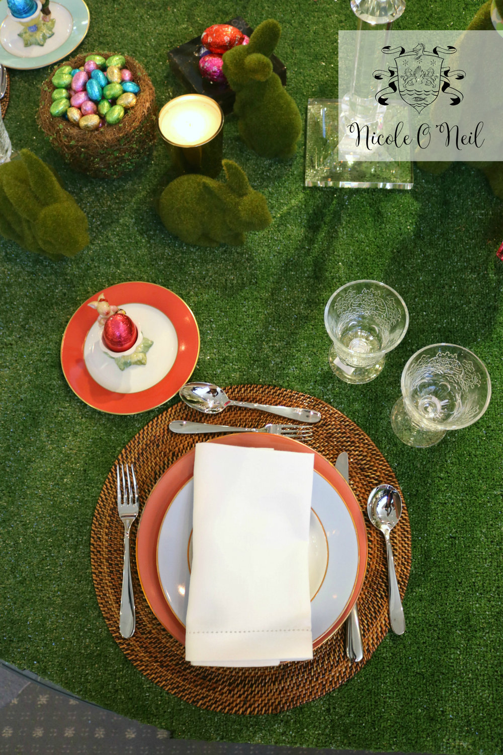 Easter Table Setting Ideas - How to Decorate An Easter Table