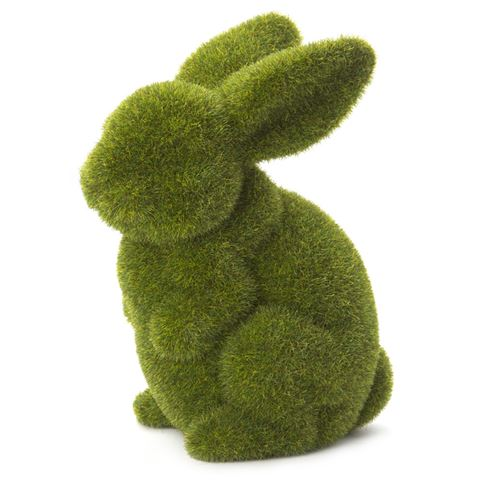Rogue Large Sitting Moss Bunny - $9