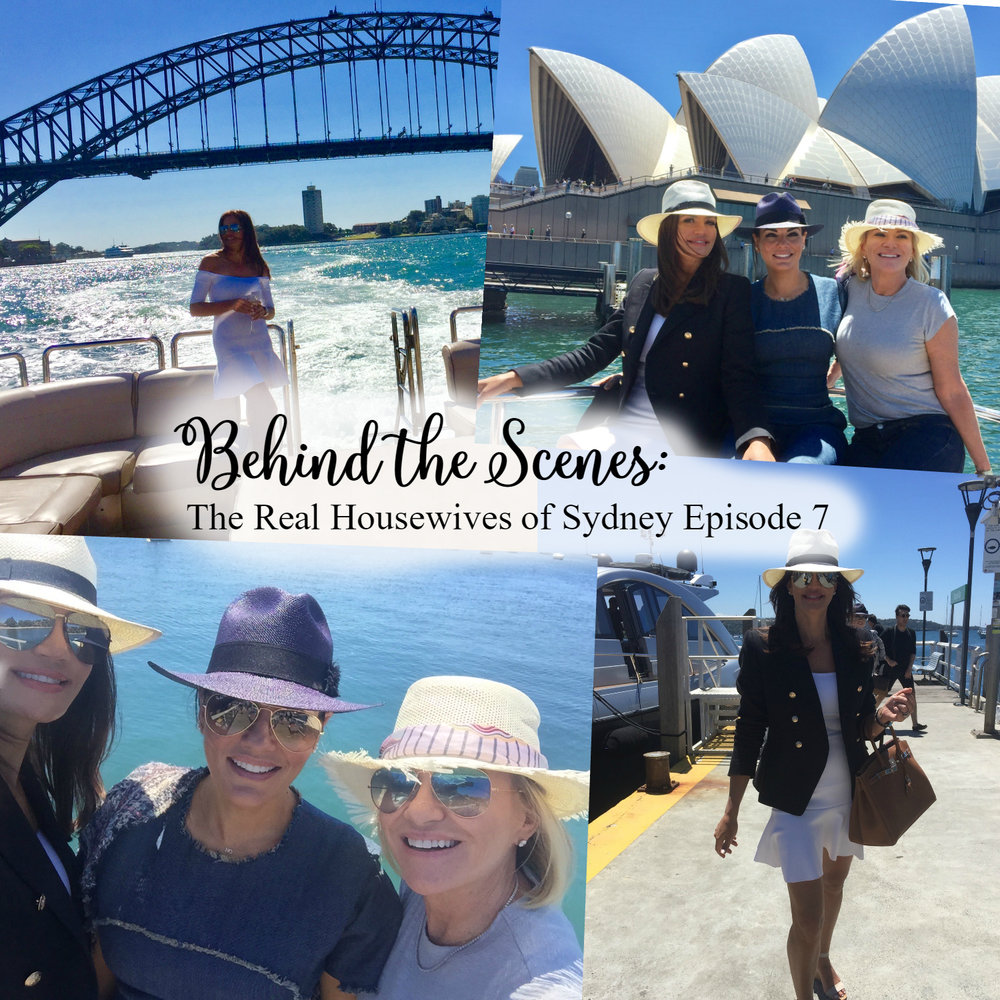 Find out what goes on behind the scenes of The Real Housewives of Sydney and get cast member, Nicole O'Neil's, exclusive behind the scenes photos from episode seven.