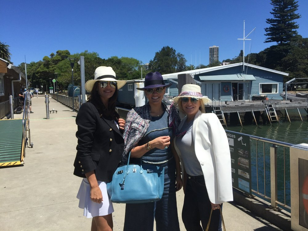 Krissy, Nicole and Victoria ready to set sail - Behind the Scenes of The Real Housewives of Sydney Episode Seven