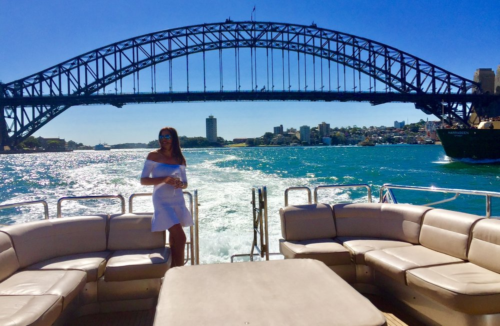 Krissy on Sydney Harbour - Behind the Scenes of The Real Housewives of Sydney Episode Seven
