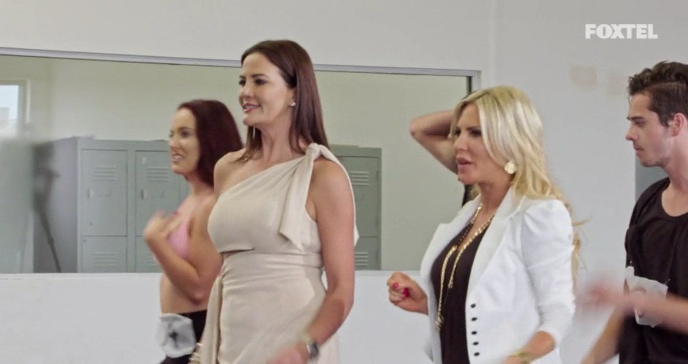 Krissy and Mel Dancing - The Real Housewives of Sydney Episode 7 Recap Series 1 RHOS S01E07