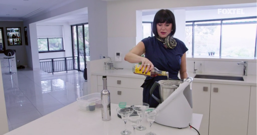 Lisa Cooking With Her Snake - The Real Housewives of Sydney Episode 7 Recap Series 1 RHOS S01E07