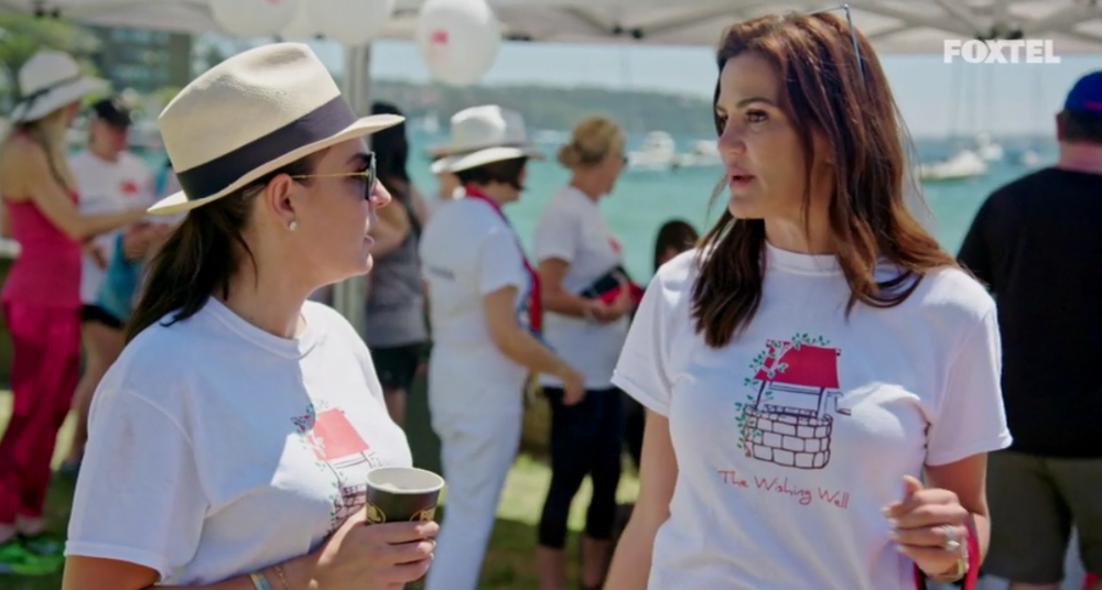 Krissy and Nicole at The Wishing Well Dog Walk - The Real Housewives of Sydney Episode 8 Recap Series 1 RHOS S01E08