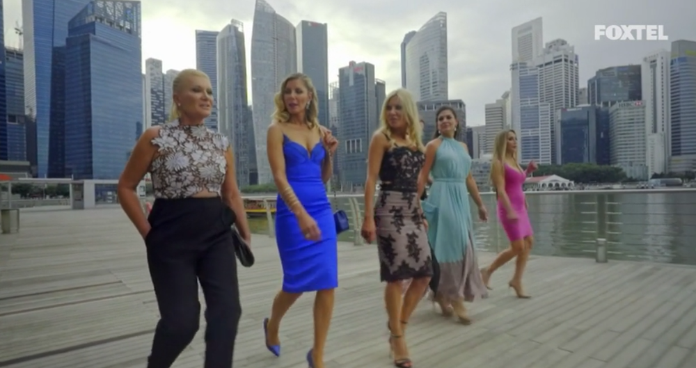 Girls arrive for dinner - The Real Housewives of Sydney Episode 8 Recap Series 1 RHOS S01E08