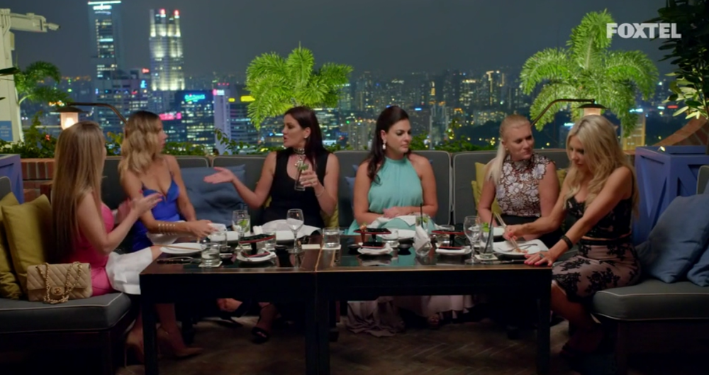 Girls at Dinner - The Real Housewives of Sydney Episode 8 Recap Series 1 RHOS S01E08